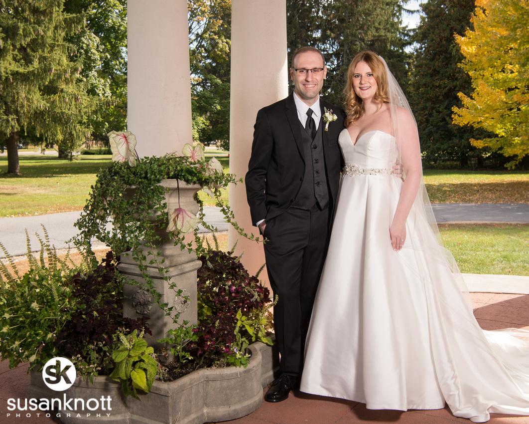 """Wedding Photographers, Saratoga Springs, NY"", ""Wedding portrait"", ""Bride and Groom photo"", ""National Museum of Dance wedding"""