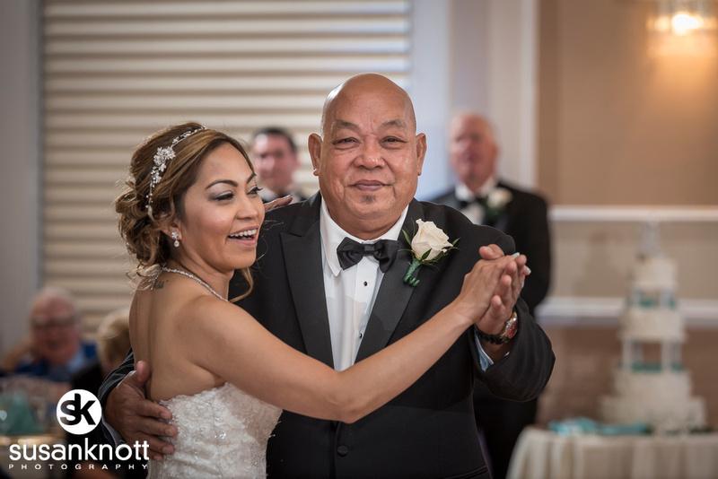 """Wedding Photography in Lake George"", ""Lake George Wedding photographers"", ""Hiland Park Country Club wedding reception photos"""