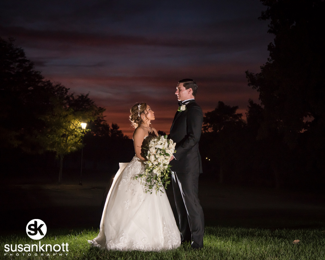 """""""Wedding Photography in Lake George"""", """"sunset photo at wedding"""", """"Bride and Groom at sunset photo"""", """"Hiland Park Country Club wedding photos"""""""