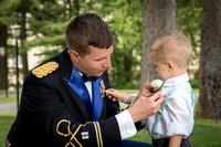 Groom with ring bearer, Anne's Washington Inn weddings, Saratoga NY