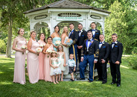 Wedding Bridal Party at Anne's Washington Inn, Saratoga Springs NY