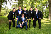 Wedding Photographers, Saratoga Springs, NY-Groom with Groomsmen