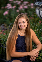 Senior Portraits at Rose Garden, Schenectady, NY
