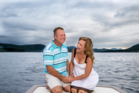 Engagement Photos on Sacandaga Lake