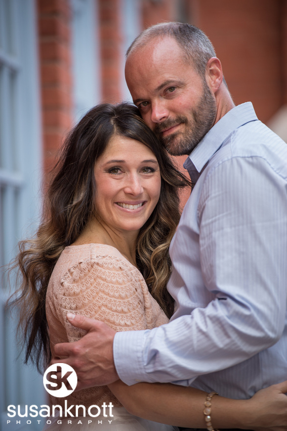 """Wedding engagement portrait, Clifton Park, NY"", ""Engagement photo"", ""She said yes!"""