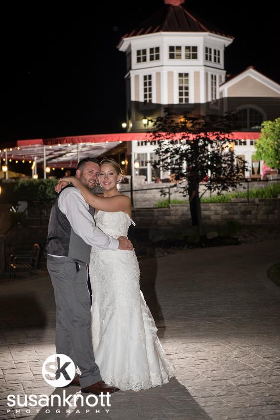 """""""Waters Edge Lighthouse Wedding photos"""", """"Wedding photographers, Schenectady, NY"""" """"Wedding photos at night"""""""