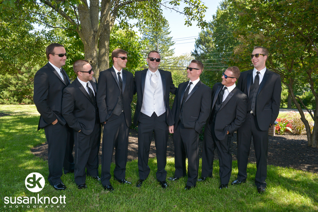 Wedding groomsmen photos, Albany NY