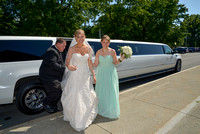 Wedding photography at St Pius Church, Loudonville, NY