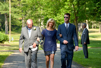Outdoor wedding, Saratoga Springs, NY