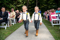 Twin ring bearers, saratoga springs, NY