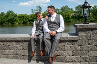 wedding photography at Waters Edge Lighthouse, Schenectady NY