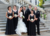 Bridal party photos, Albany NY