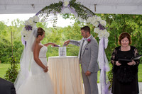 Sand ceremony at Century House Wedding, Latham, NY