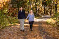 Engagement photo session at Yaddo Gardens, Saratoga, NY