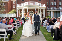 Wedding photography at the Gideon Putnam, Saratoga NY