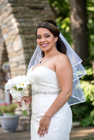 Bride photos at Treviso by Mallozzi's, Albany NY